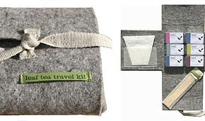 Leaf limited edition tea travel kit