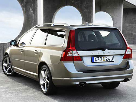 2009 Volvo on Pictures Of The Third Generation Of The Volvo V70 Has Just Been