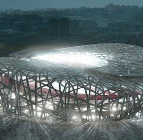 Beijing stadium by Herzog and de Meuron