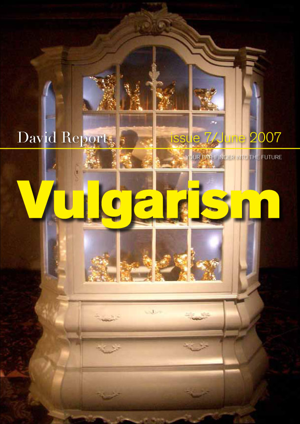 Vulgarism - trend report about design and art
