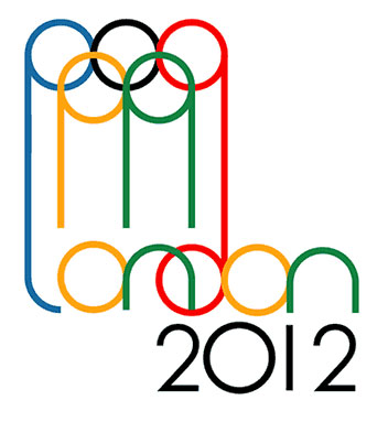 London 2012 Logo Olympics. Alternative London 2012