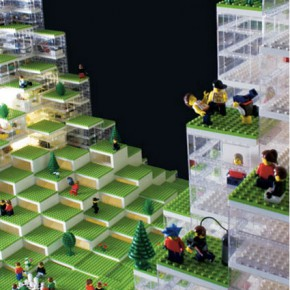 Lego work by Bjarke Ingels