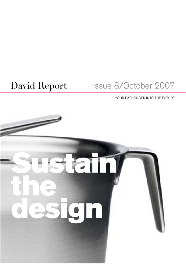 Front page of the trend report The Sustainable Wheel