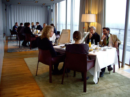 Boost chats at Stockholm Furniture Fair
