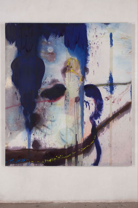 Julian Schnabel At Saatchi Gallery David Report