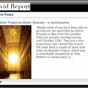 Get the David Report widget