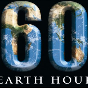 Earth Hour tonight