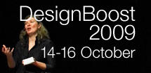 Complete speaker list for DesignBoost 2009