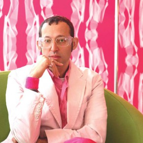 Karim Rashid among others at Arkitekturmuseet