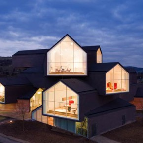 The VitraHaus has opened