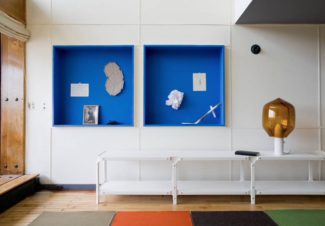 the le corbusier apartment 50 by bouroullec david report. Black Bedroom Furniture Sets. Home Design Ideas