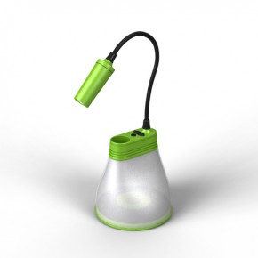 Bell lamp for off-grid living