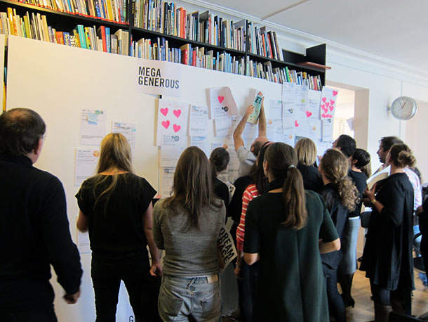 From a workshop in Copenhagen with Gehl architects