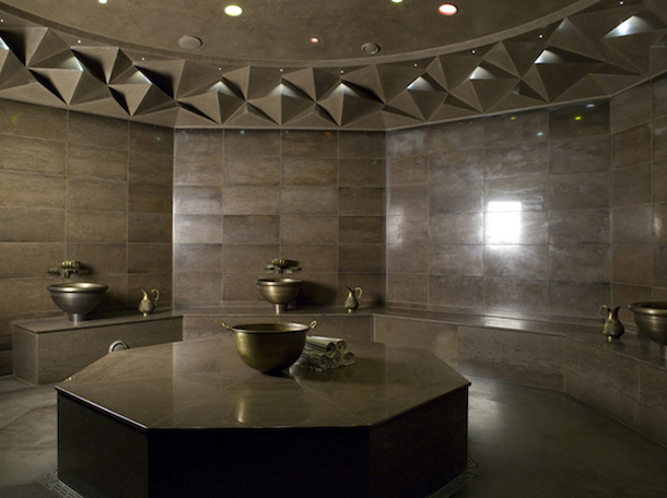 A contemporary spa inspired by turkish traditions for Decor hotel istanbul