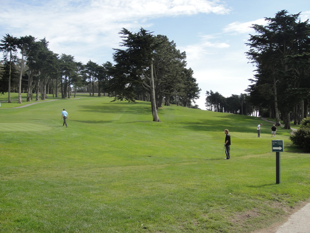 Golf Court around Legion of Honour