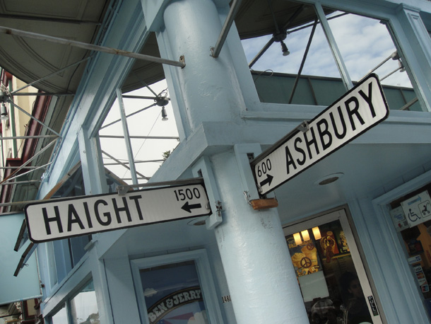 The Haight-Ashbury corner
