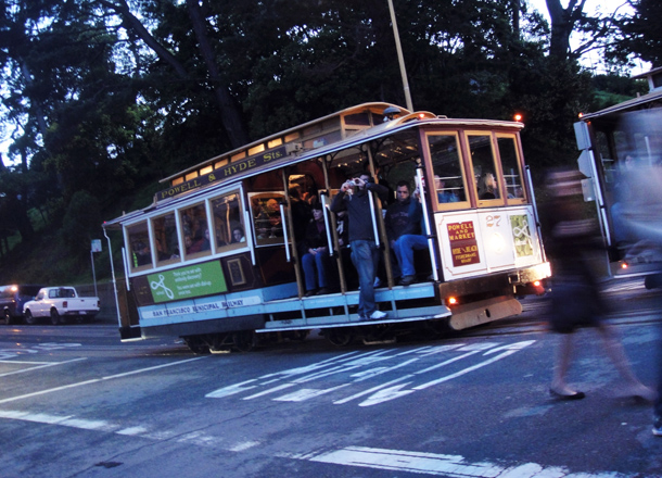 Cable Car, Russian Hill