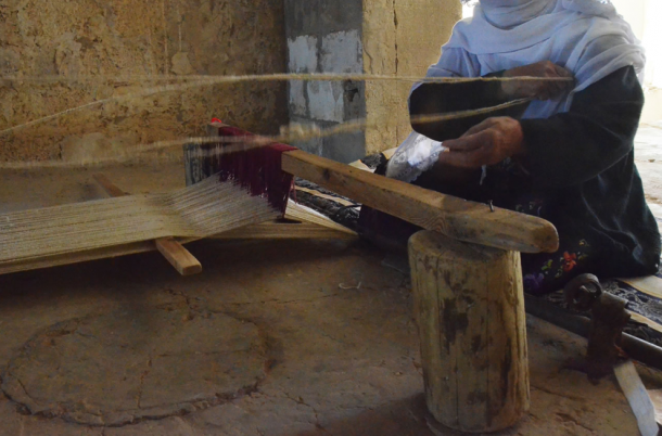 Image form Lakiya Weaving