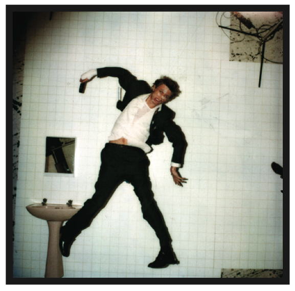 David Bowie by Duffy for the Lodger album cover