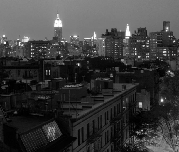 New York by night.