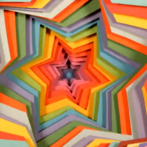 Jen Stark paper art video