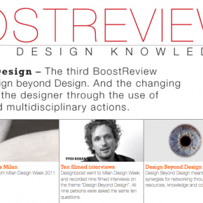 New BoostReview on Design Beyond Design