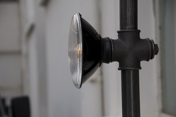 The streetlights on show at the Clerkenwell Design Week