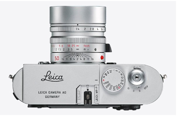 The Leica M9-P in silver