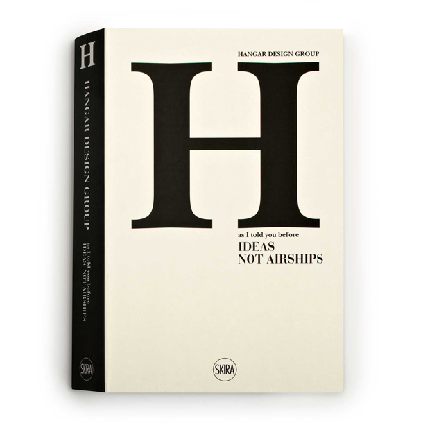 The cover of the Hanger design group book
