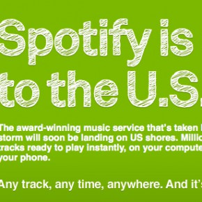 Spotify music service is coming to the U.S.