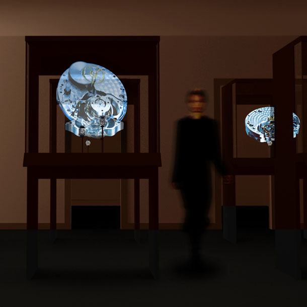 Cartier Time Art exhibition by Tokujin Yoshioka