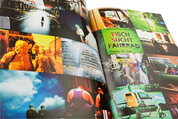A spread from the Lomography Berlin city guide