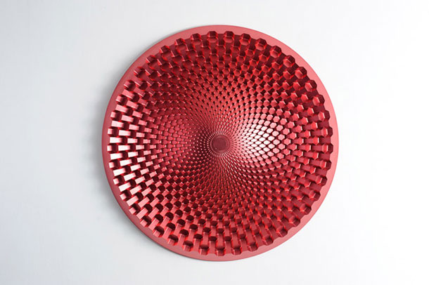 Red object for the wall by Michael Young
