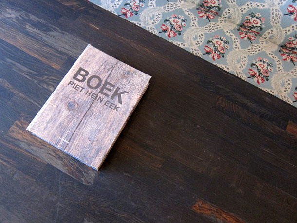 Piet Hein Eek book on a table