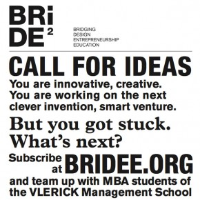 BRIDEE - bridging design, entrepreneurship and education