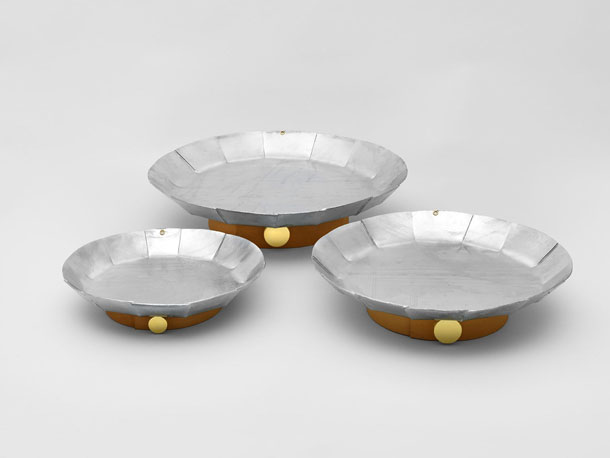 Three plates by David Taylor