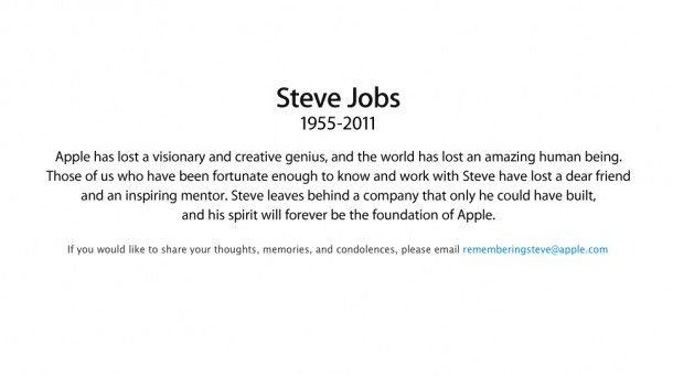 Steve Jobs rest in peace