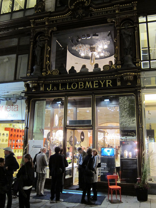 The front of J. & L. Lobmeyer