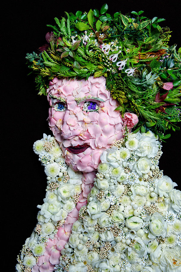 Klaus Enrique Gerdes photography inspired by Arcimboldo