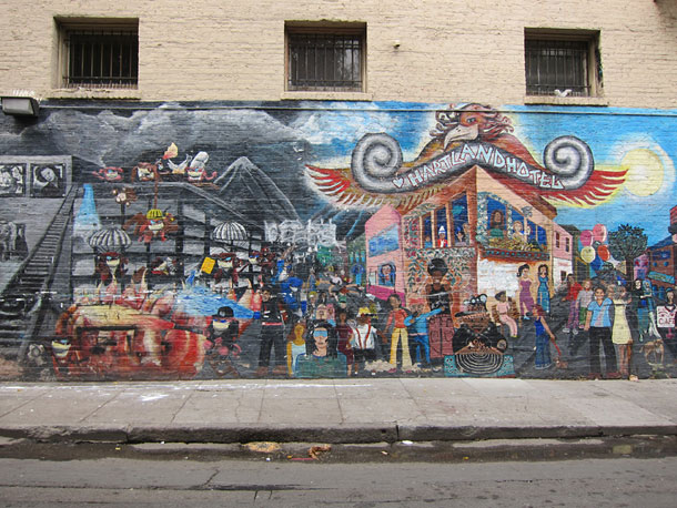 Wall painting in San Francisco