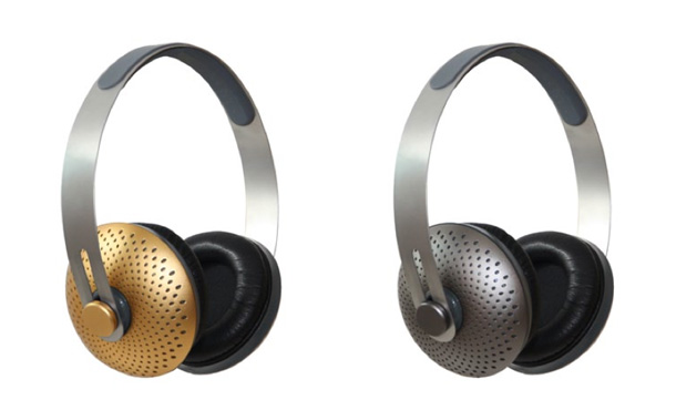 Designer headphones by Michael Young