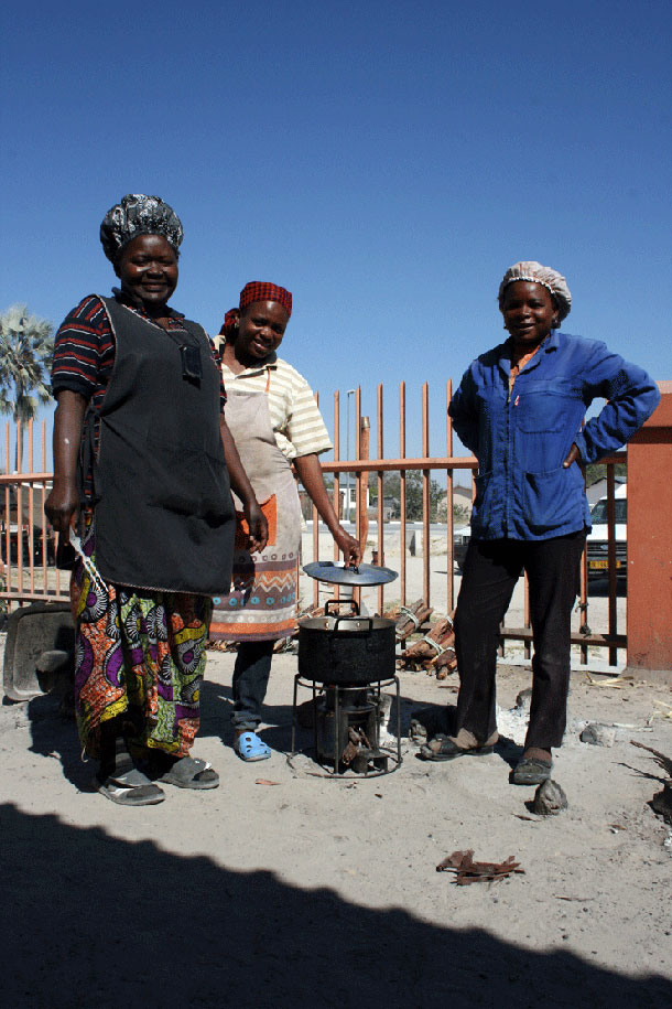 EzyStove in a African village