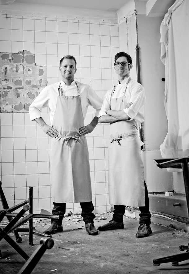 Jacob Holmström and Anton Bjuhr from Gastrologik