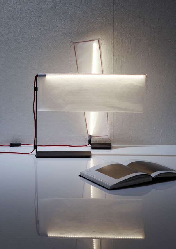 Lamp designed by Arik Levy for Forestier