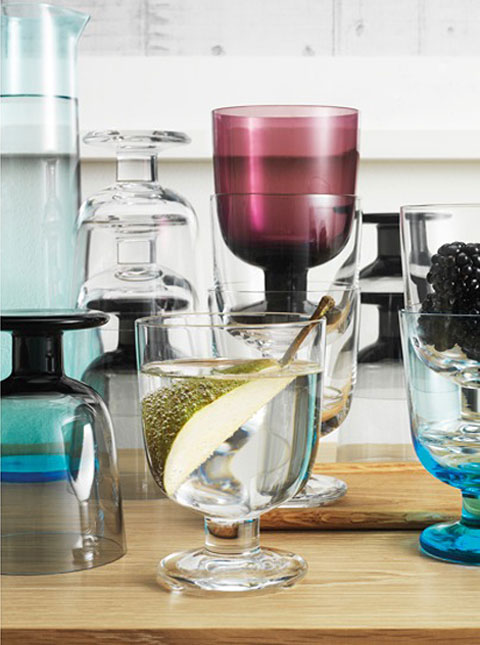 Glasses by Matti Klenell for Iittala