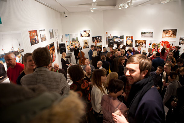 The opening of the Laboratory gallery