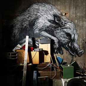 ROA installation show Defragmentation in Stockholm