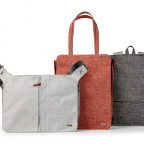 Bellows luggage collection by Benjamin Hubert
