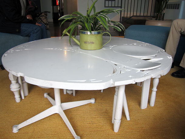 A home made table