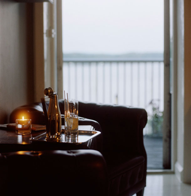The interior from Oaxen krog in Stockholm